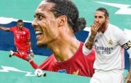 Top 10 trung vệ xuất sắc nhất thế giới năm 2020: 'Nhân tố lạ' của Sevilla