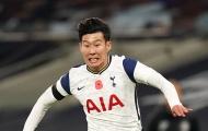 Khoảnh khắc phì cười của Son Heung-min đầu trận gặp Crystal Palace