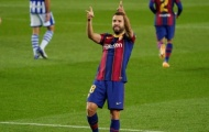 Thắng Sociedad, Jordi Alba nói ngay 1 lời khiến Cules xúc động
