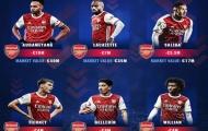 6 ngôi sao Arsenal tụt giá thảm hại nhất: Bellerin thứ 4, số 1 là ai?