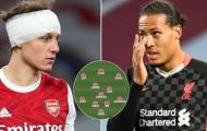 Đội hình tệ nhất Big Six Premier League hiện tại