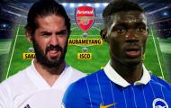 Đội hình cực mạnh của Arsenal sau phiên chợ Đông