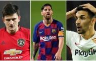 Top 10 'cỗ máy cày ải' châu Âu: Messi thứ 3, số 1 khỏi bàn cãi