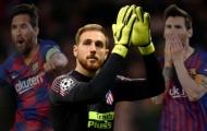 Jan Oblak bất ngờ ca ngợi Lionel Messi