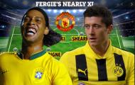 Đội hình khủng với 11 cái tên suýt nữa về Man Utd dưới trướng Sir Alex