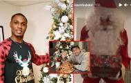 Các sao Man Utd đón Giáng Sinh: Lindelof 'tấu hài', Lingard nghiêm túc đến lạ