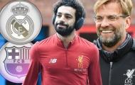 Jamie Carragher chỉ ra lý do Barca, Real sẽ không chiêu mộ Mohamed Salah