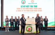 Topenland và Hưng Thịnh Land tài trợ 300 tỷ cho CLB bóng đá Topenland Bình Định trong 3 mùa giải V.League 2021 - 2023