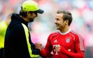 Gotze: 'Tôi đáng lẽ ra phải ở lại với Jurgen Klopp lâu hơn'