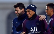 Pochettino có lần đầu ở PSG, lộ thái độ của Neymar & Mbappe trên sân tập