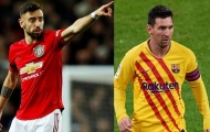 Từ Bruno đến Messi: Đội hình 11 cầu thủ được yêu mến nhất năm 2020