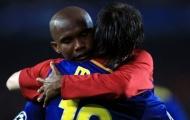 Samuel Eto'o chỉ mặt đặt tên người thừa kế Lionel Messi tại Barcelona