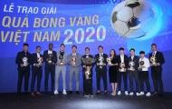 Xác định chủ nhân Quả bóng Vàng Việt Nam 2020