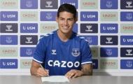 Giám đốc xác nhận, Everton sở hữu James từ Real với mức giá không tưởng