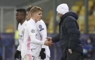 Zidane ra quyết định cuối cùng cho Odegaard