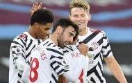 Bruno - McTominay - Fred đá chính, quá rõ vai trò của Pogba ở Man Utd