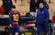 Messi điên tiết đánh cầu thủ Bilbao, HLV Koeman nói thẳng quan điểm