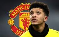 Man Utd nhận tin vui từ thương vụ Jadon Sancho