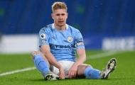 Fan Tottenham nghi ngờ chấn thương của De Bruyne