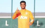 Quá tiềm năng, Amad Diallo ghi bàn thắng đầu tiên trong buổi tập cùng Man Utd