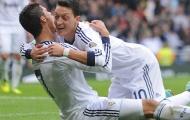 Những 'cạ cứng' kiến tạo nhiều nhất cho Ronaldo: Ozil thứ 3
