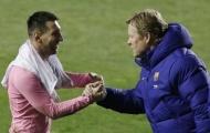 Đến Ronald Koeman cũng không tin Messi ở lại Barcelona