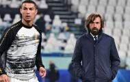 Pirlo giải thích lý do rút Ronaldo rời sân