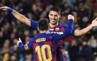 Suarez chói sáng, sao Atletico muốn chiêu mộ luôn Messi