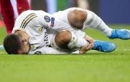 Chính thức: Hazard ngồi ngoài ít nhất 2 tuần vì chấn thương mới