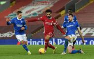 Công cùn thủ kém, Liverpool nhận trái đắng trước Brighton ngay tại Anfield