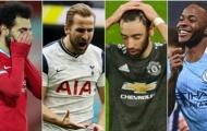 Không tính penalty, ai là Vua phá lưới Premier League?
