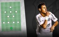 Đội hình cực khủng của Santos nếu không để các ngôi sao ra đi
