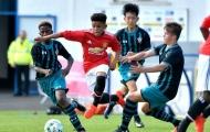 2 sao mai U18 được gọi lên tập luyện cùng đội 1 Man Utd