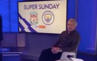 Huyền thoại Liverpool bị cặp huyền thoại Manchester trêu chọc trên trường quay