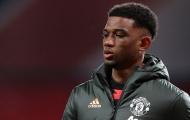 Đã rõ lý do Amad Diallo vắng mặt ở U23 Man Utd trận gặp Arsenal