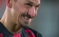 Ibrahimovic bật khóc nhìn Milan thua thảm trước tân binh Serie A