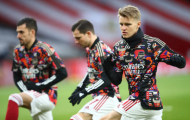 Lần đầu đá chính, Odegaard nói thẳng về các đồng đội ở Arsenal