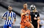 Thống kê tệ hại của Ronaldo trong ngày trở lại Bồ Đào Nha