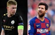 10 'nhạc trưởng' đỉnh nhất châu Âu 15 năm qua: Messi số 1; Bất ngờ De Bruyne
