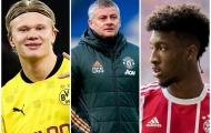 Man Utd và 'siêu đội hình' có thể chinh phục EPL với Haaland và Coman