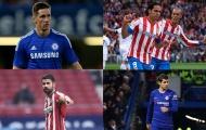 Từ Falcao đến Torres: 10 cầu thủ từng khoác áo Chelsea và Atletico