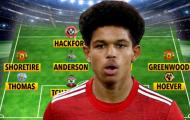 Đội hình 11 'sao nhí' nổi bật nhất Premier League 2020/2021
