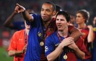 Đội hình hay nhất lịch sử cúp C1 do fan bầu chọn: Messi sát cánh Henry; Hàng thủ 'bá đạo'