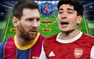 Đội hình PSG mạnh cỡ nào nếu Messi gia nhập?