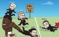 Cười té khói với loạt ảnh chế vòng 1/16 Europa League