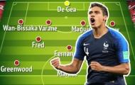 Nếu tậu được Raphael Varane, Man Utd sẽ có 3 đội hình 'chất lừ'