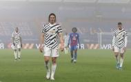 Cavani mang đến sự thất vọng cùng cực cho CĐV Man United ở trận hòa Crystal Palace