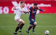 """Va chạm với Giám đốc Sevilla, Messi đáp trả: """"Về nhà mà khóc lóc"""""""