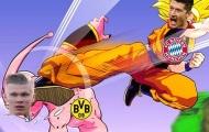 Cười té khói với loạt ảnh chế Bayern chiến thắng Dortmund
