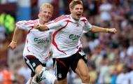 Dirk Kuyt sẵn sàng làm trợ thủ cho Gerrard ở Liverpool